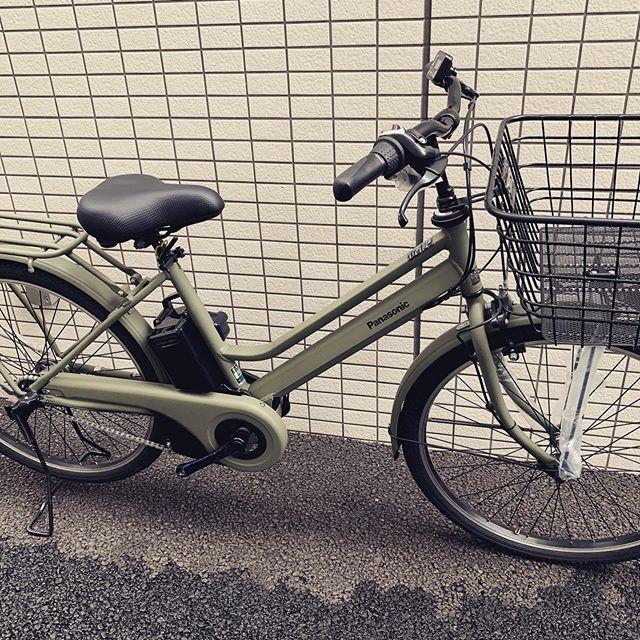 パナソニック ティモS1人用でもオシャレに乗れる後ろ子供乗せ付けても鍵が施錠しやすい!#パナソニック #電動自転車 #ティモS #サイクルフィックス